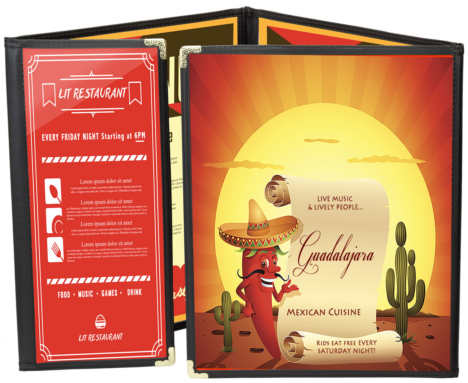 Simplicty New Cafe Menu Covers the quality choice from Menucoverman. FREE DELIVERY NATIONWIDE.