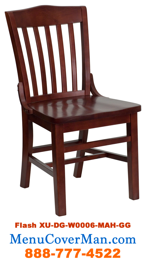 Wooden restaurant chair RS-100-01