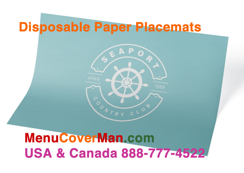 Imprinted Paper Placemat
