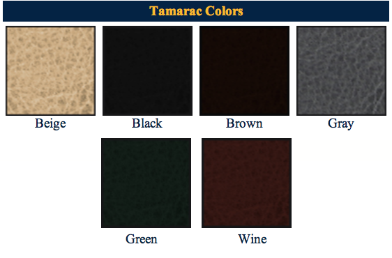 Tamarac Color Bar for Tamarac Menu Classic Covers 888-777-4522