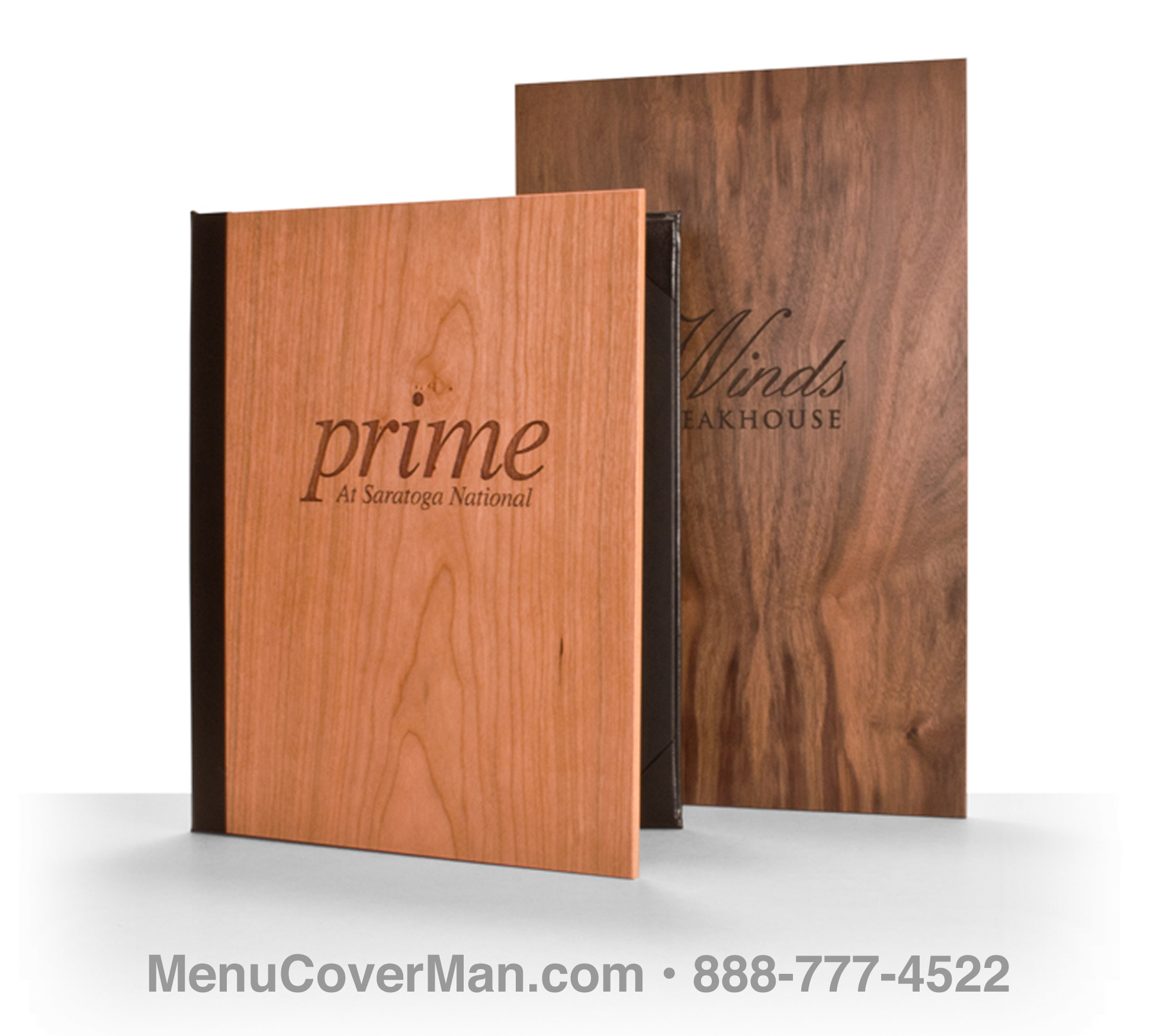 Authentic Wood Menu Covers • Real Wood Menu Covers • Menucoverman ...: menucoverman.com/authentic-wood-menu-covers.html