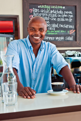 Coffe bar menu covers are supplied by Menucoverman.com