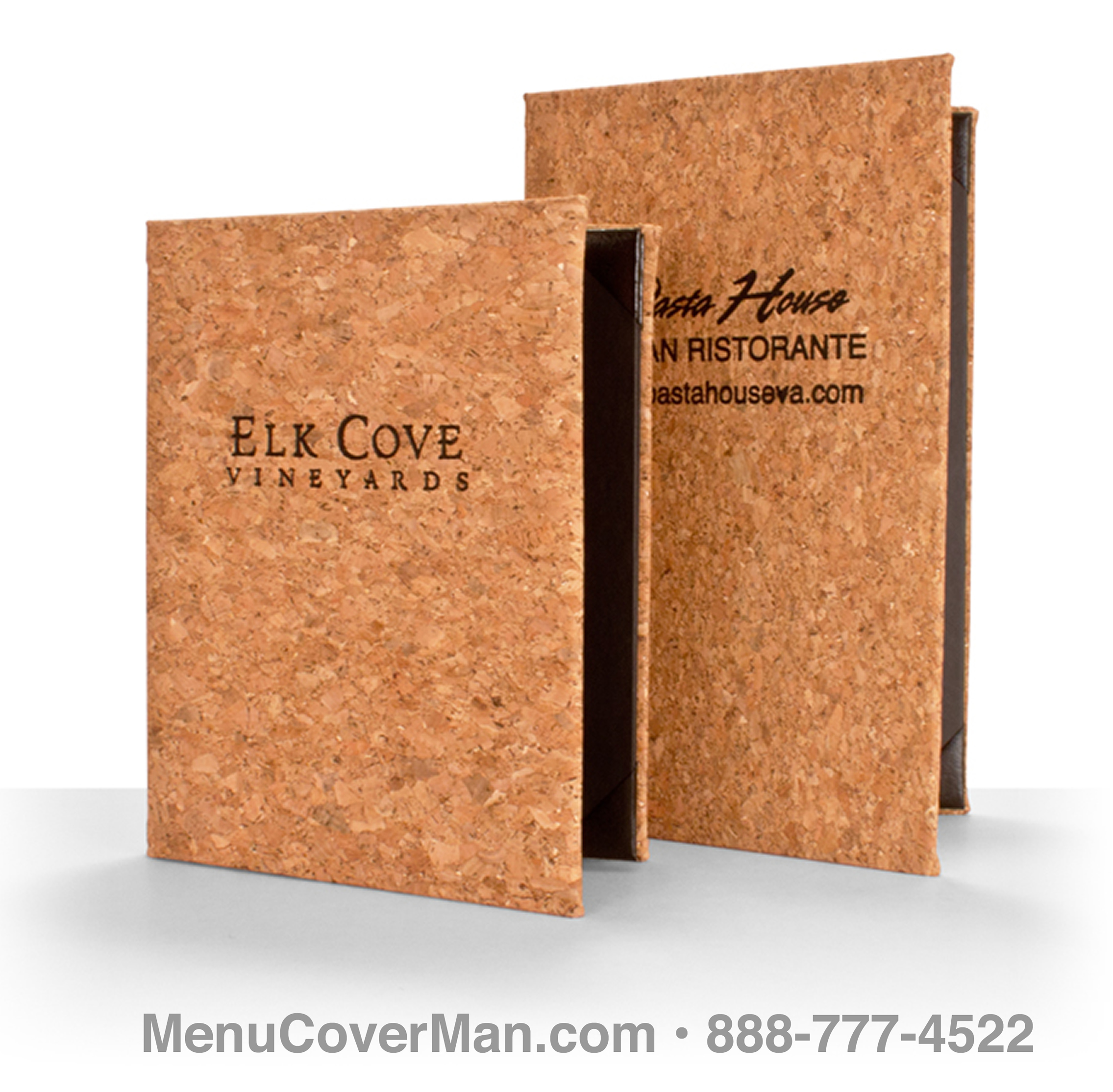 Cork Menu Covers Frontspiece