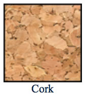 color chart for cork menu covers