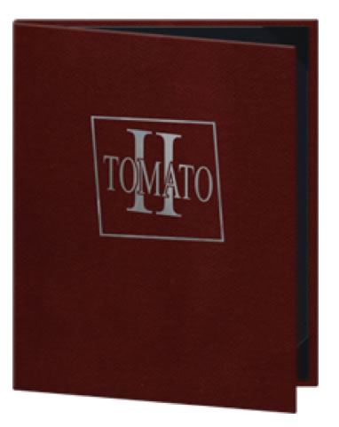 Tuxedo Genuine Leather Menu Covers