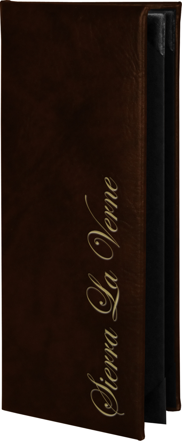 Harley New York Menu Covers Style