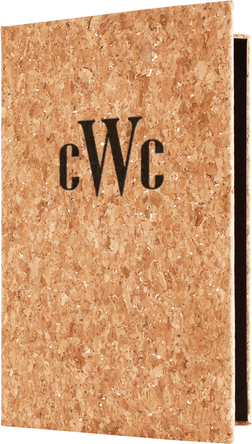 Genuine Mediterranean Cork Menu Covers from Menucoverman.com