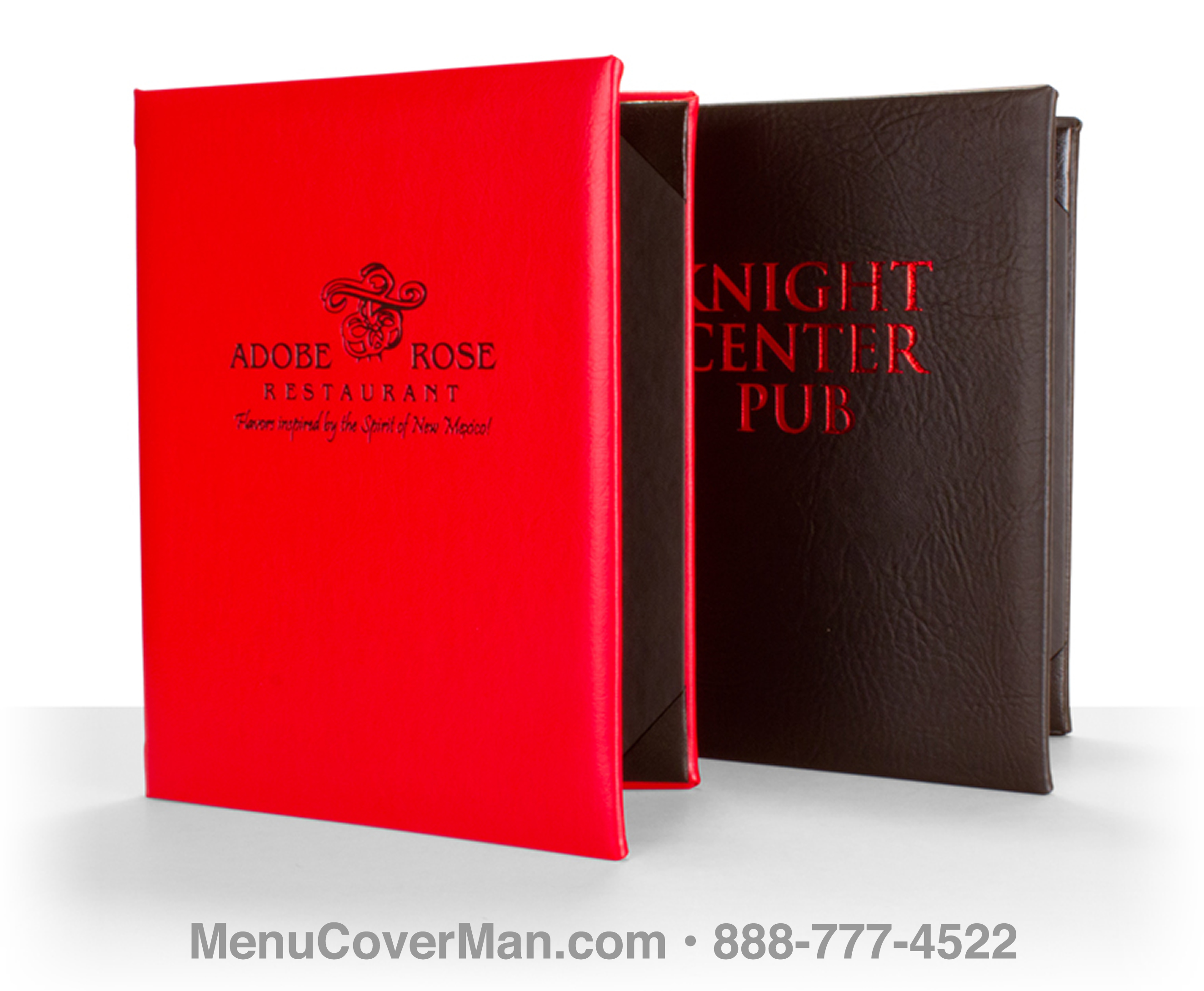 New York Steakhouse Style Menu Covers