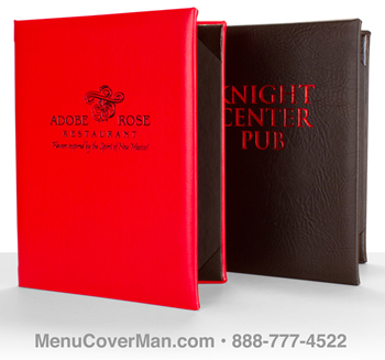 New York Steakhouse Menu Covers from Menucoverman.com