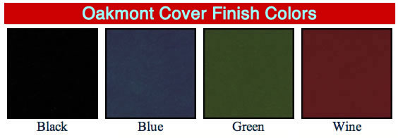 Oakmont contemporary menu covers available colors.