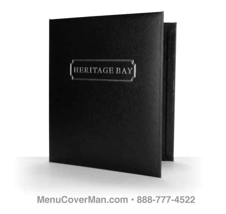 Pinehurst Menu Covers For Large Menus and Drink Lists.