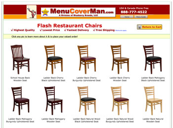 Restaurant Seating Website