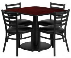 cheap restaurant table and chair sets.