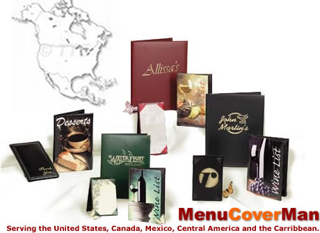 Canada menu covers.