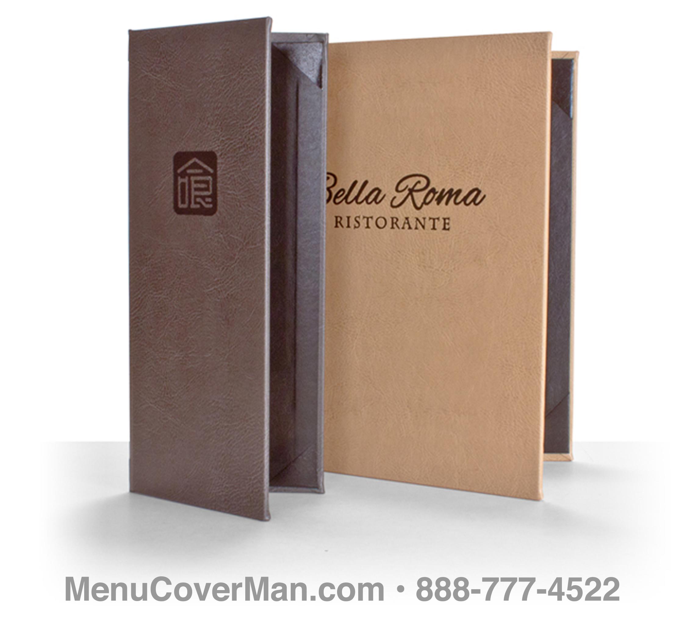 fancy menu covers