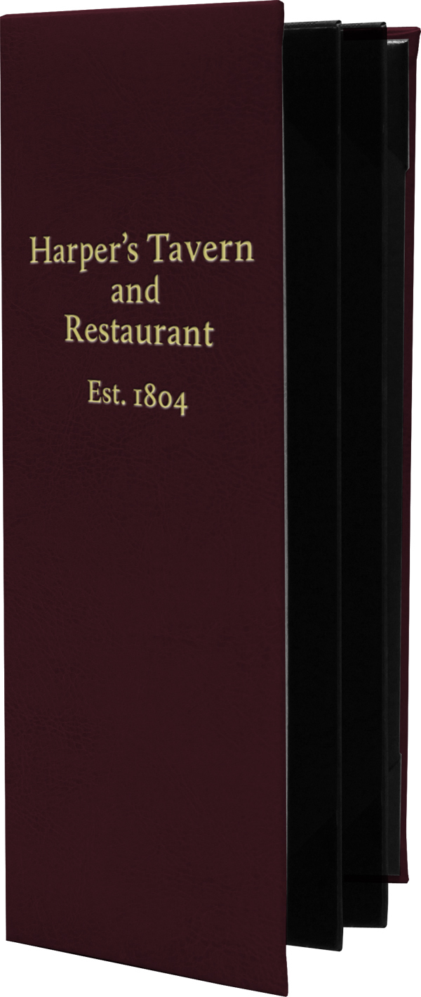 Tamarac Restaurant Menu Covers
