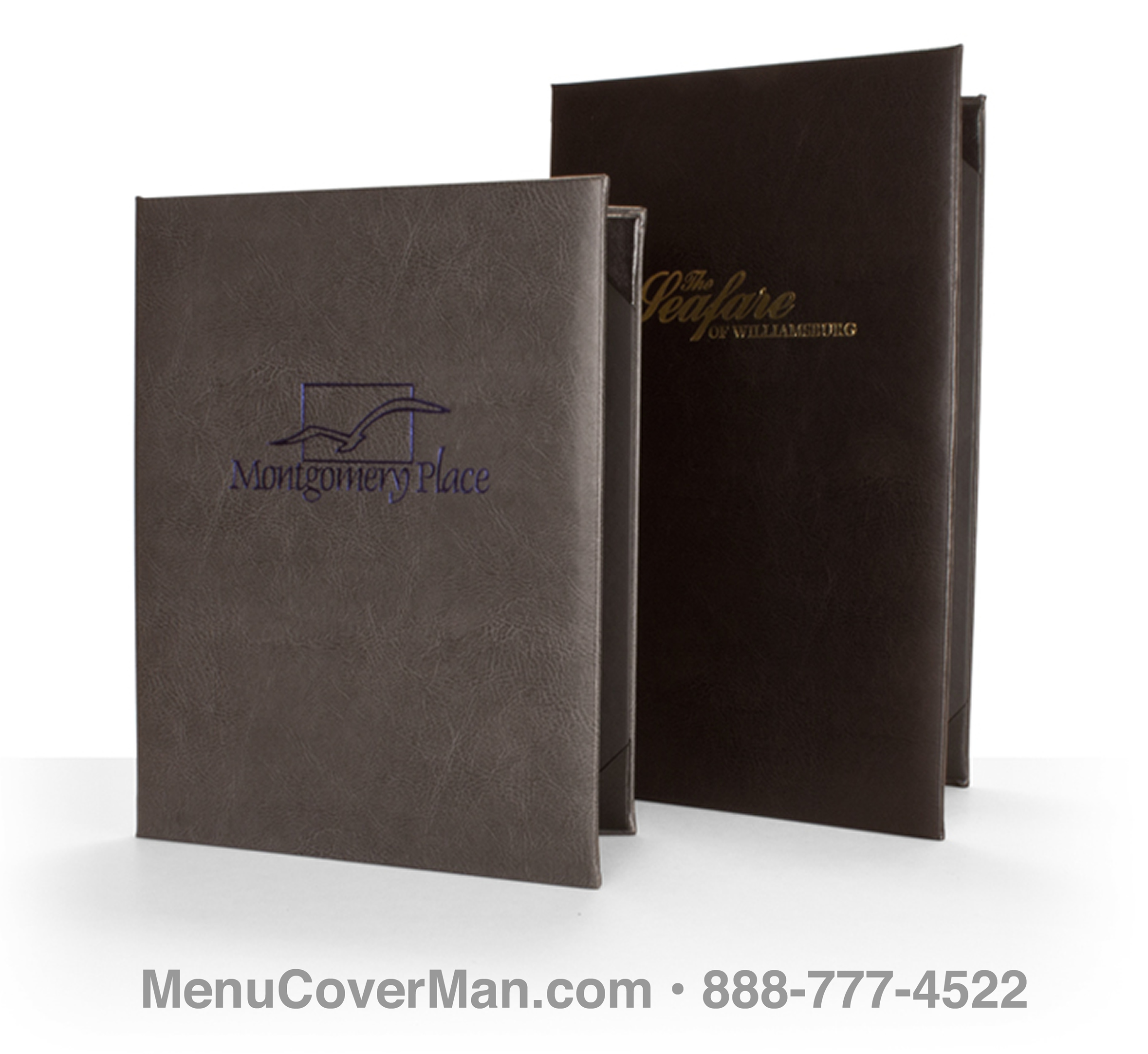 Tamarac Menu Covers Frontspiece.