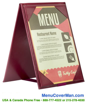 Super low price basic budget restaurant table tents.